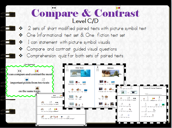 Compare and Contrast C-D