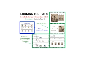 LLI Green System Book #33 (Looking for Taco) Modified &Comprehension