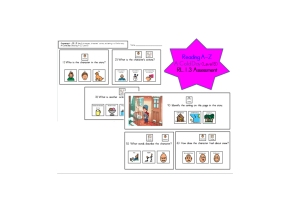 Identify Characters, Setting, Events (RL 1.3 Unit for SpecialEducation)