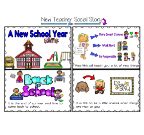 Back to School Social Story – Autism Classroom