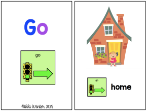 "Core Vocabulary ""Go"" Book (Autism / SPED / AAC)"